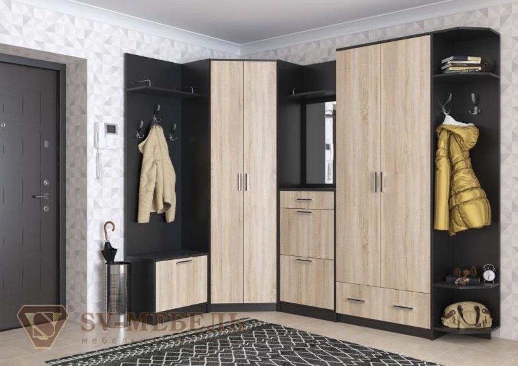 Мебель для прихожей Консул 2: Полка с зеркалом Консул 2 в Диван Плюс