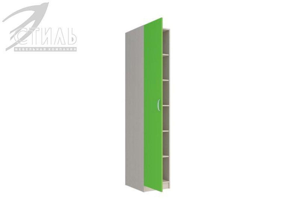 Мебель для детской Мийа - 2 (зеленый): Пенал Мийа - 2 (зеленый) в Диван Плюс