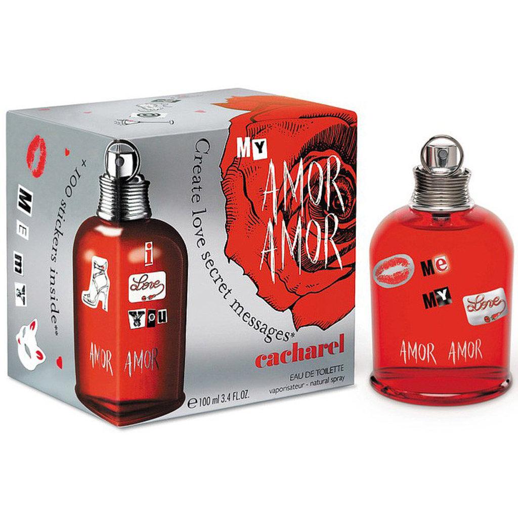 Женская туалетная вода Cacharel: Cacharel My Amor Amor edt ж 50 ml в Элит-парфюм