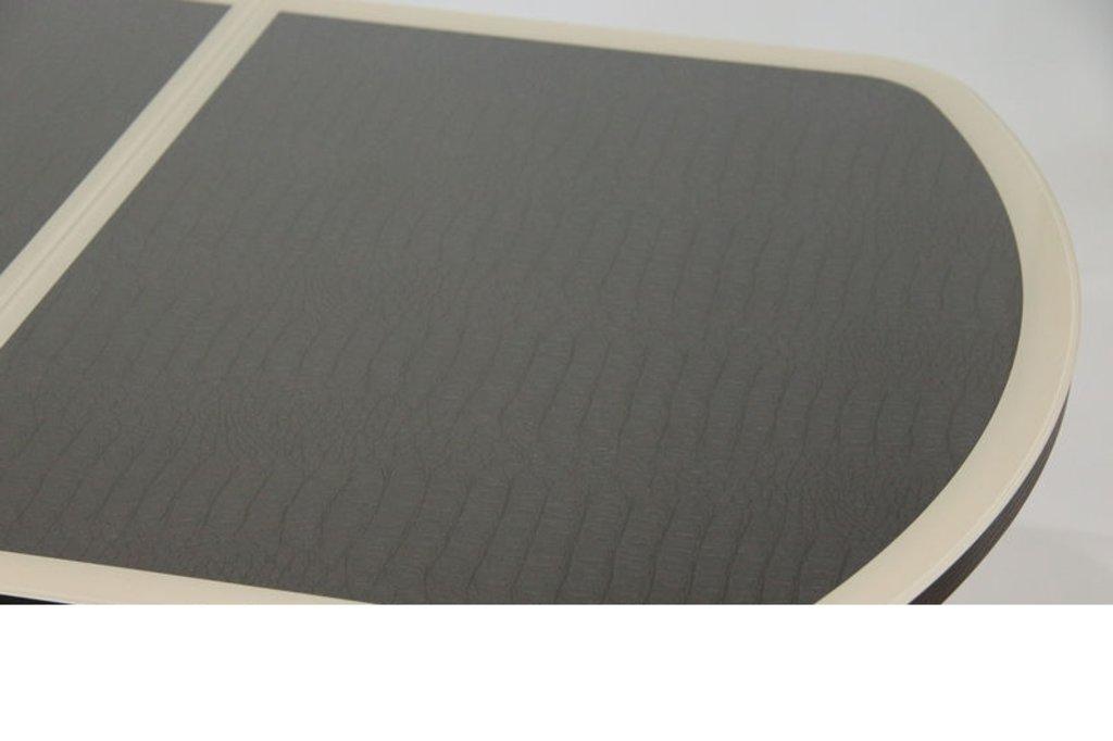 Столы кухонные.: Стол ПГ-14 раздвижной кож. зам (хром) в АРТ-МЕБЕЛЬ НН