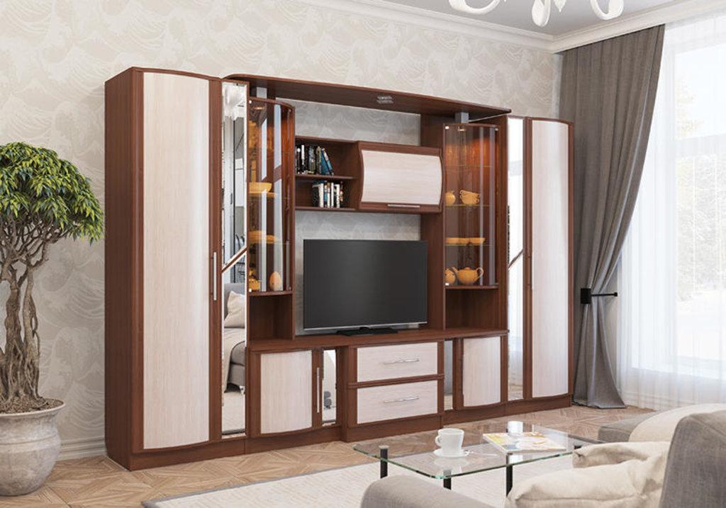 Модульная мебель в гостиную Кристина: Модульная мебель в гостиную Кристина в Стильная мебель