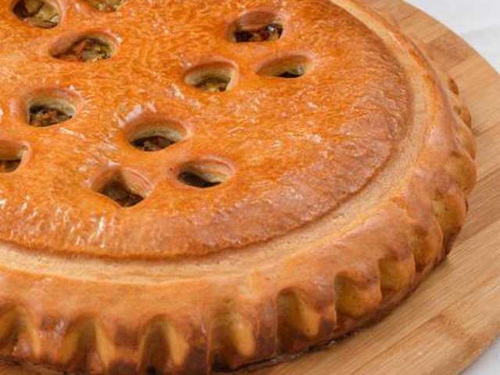 Овощные: Пирог с капустой и грибами в Провиант