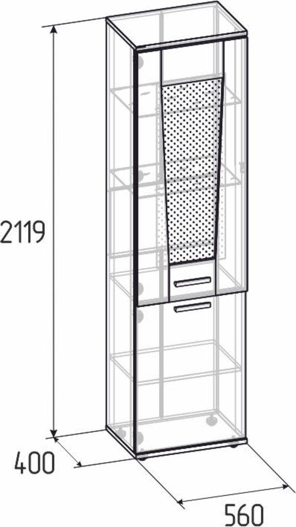 Буфеты и серванты: Шкаф для посуды Норвуд 13 в Стильная мебель