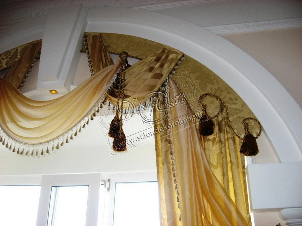 Шторы, портьеры: Шторы на окна в Декор окна, салон