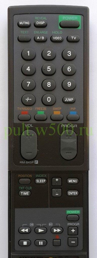 SONY: Пульт SONY RM-845P с крышкой (TV) HUAYU в A-Центр Пульты ДУ