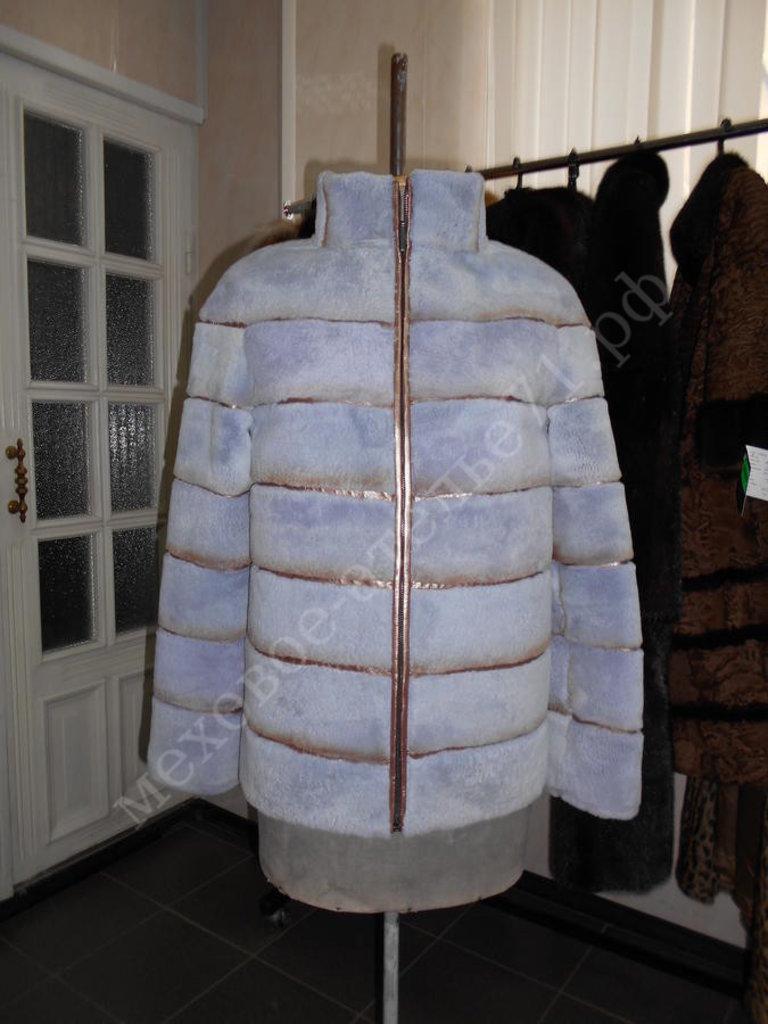 Индивидуальный пошив: Куртка из стриженного кролика рекса с кожей в Молодость