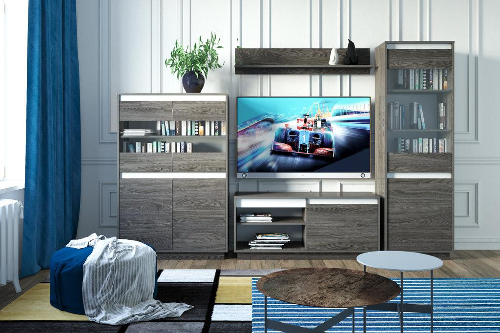 Шкафы, общие: Шкаф для посуды VIRGINIA НМ 011.83 в Стильная мебель