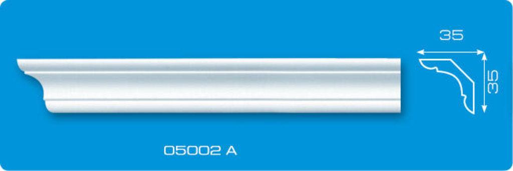 Плинтуса потолочные: Плинтус потолочный ЛАГОМ 05002 А экструзионный длина 2м в Мир Потолков