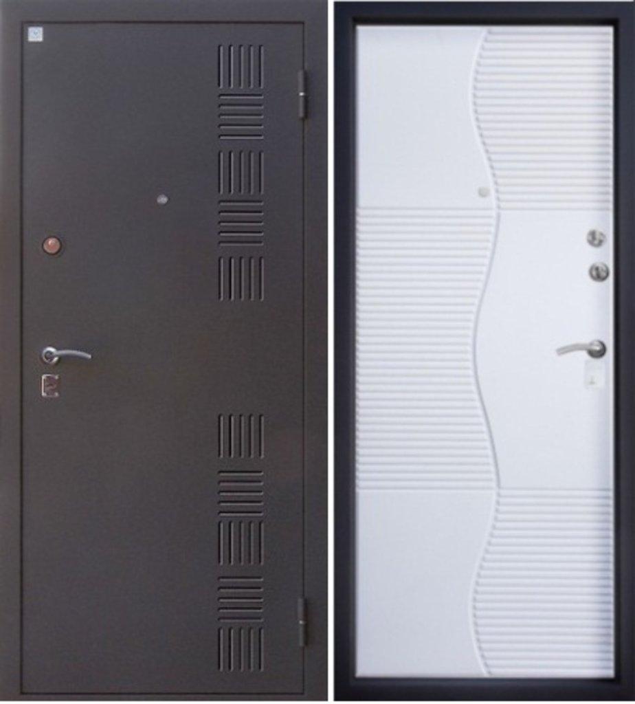 Входные двери Алмаз: Сапфир 2 Белый шёлк в Модуль Плюс