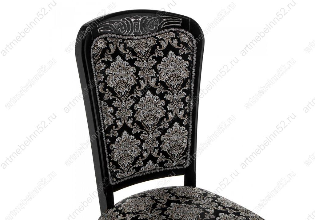 Стулья, кресла деревянный для кафе, бара, ресторана.: Стул 309305 (патина серебро) в АРТ-МЕБЕЛЬ НН