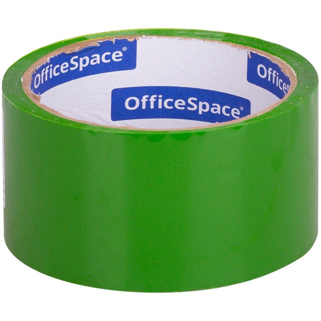 Скотч: Скотч OfficeSpace , 48мм*40м,45мкм, зеленый ШК КЛ_6286 в Шедевр, художественный салон