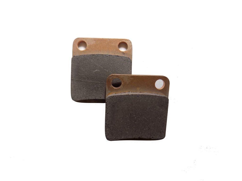 Запчасти для техники PM: Колодки тормозные передние (комплект 2 шт) (РМ 500М,500-2,650-1,2  Рысь 500) 710092005D в Базис72