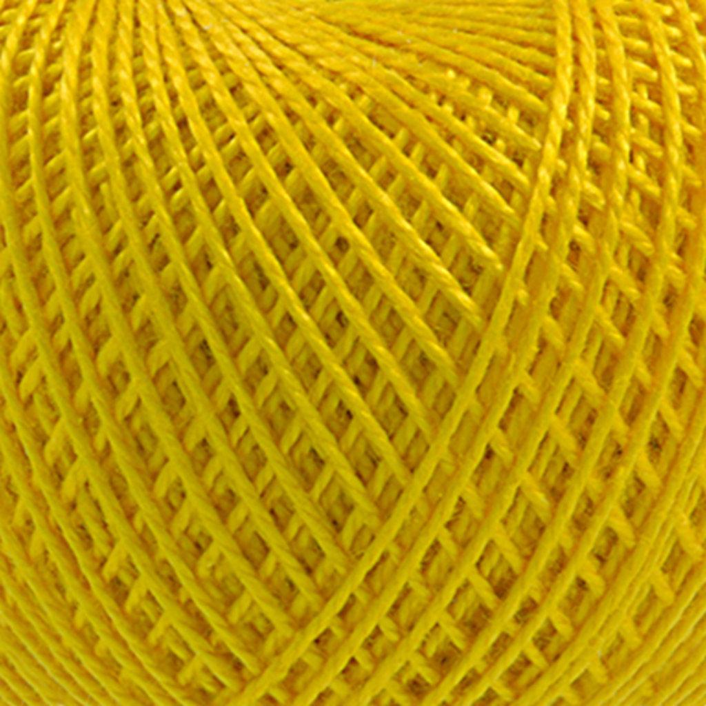 Ирис 25гр.: Нитки Ирис 25гр.150м.(100%хлопок)цвет 0306 желтый в Редиант-НК