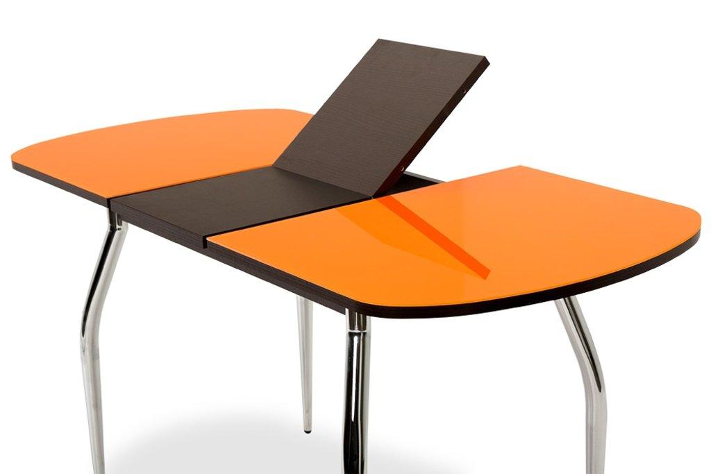 Столы кухонные.: Стол ПГ-02 раздвижной (хром) в АРТ-МЕБЕЛЬ НН