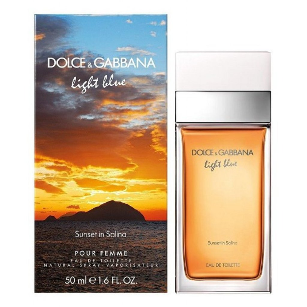 Dolce&Gabbana: D&G Light Blue Salina Туалетная вода 50 мл жен в Элит-парфюм