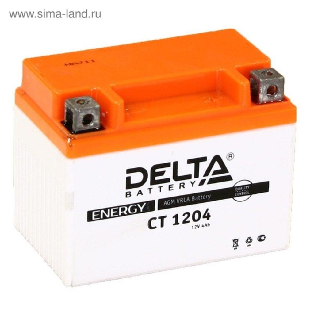 Delta: DELTA CT 1204 4 Ah в БазаАКБ