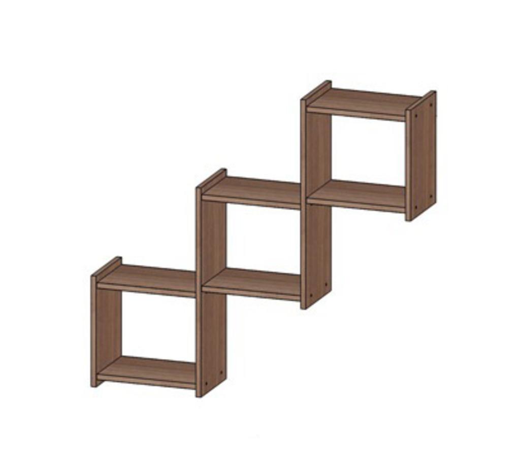 Стеллажи, общее: Полка Квадро (Линаура) в Стильная мебель