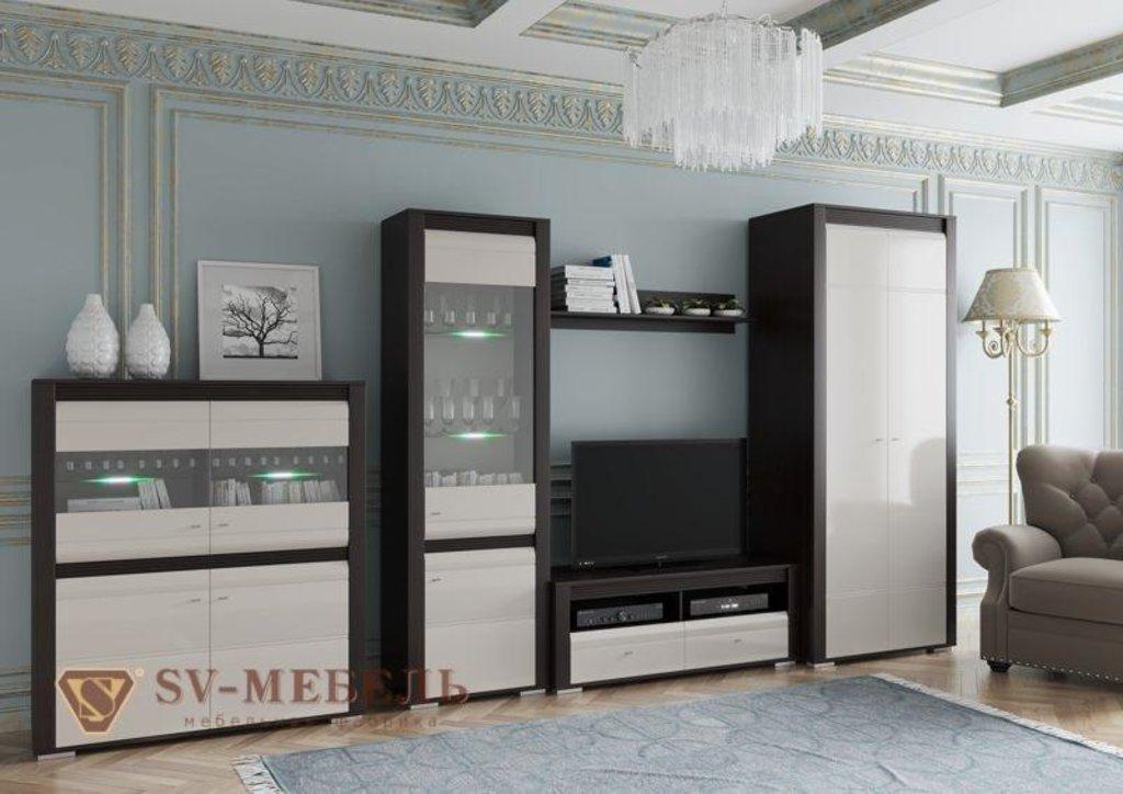 Мебель для гостиной Нота-27: Витрина Нота-27 в Диван Плюс