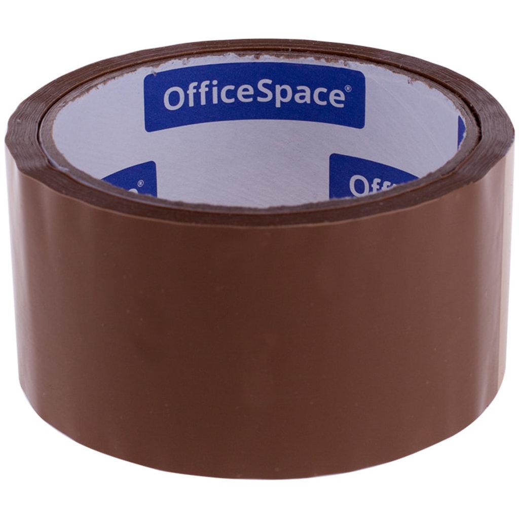 Скотч: Скотч 48 мм*40 м, 38мкм , коричневый OfficeSpace ШК КЛ_4216 в Шедевр, художественный салон