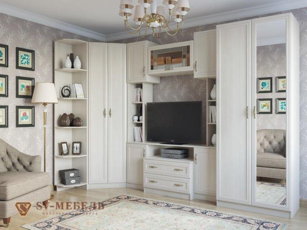 Мебель для гостиной Вега: Шкаф угловой ВМ-07 Вега в Диван Плюс