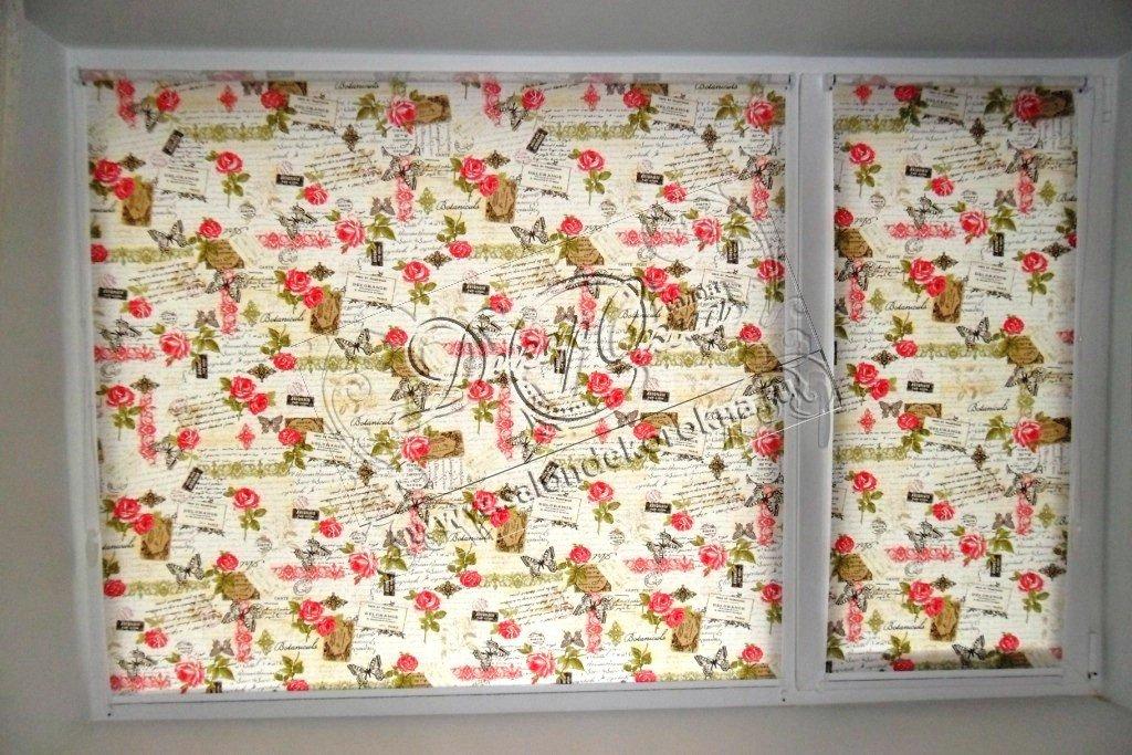 Рулонные шторы: Рулонные шторы система Мини в Декор окна, салон