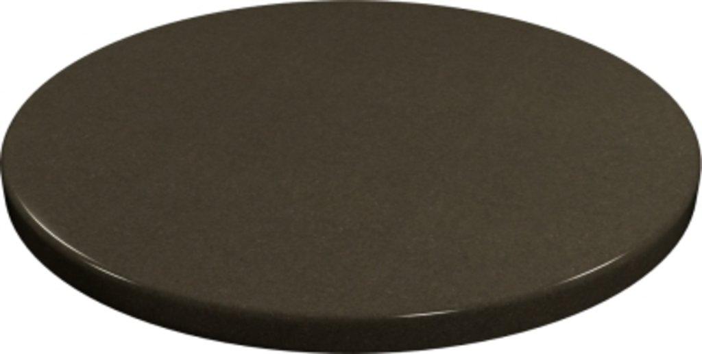 Столы для ресторана, бара, кафе, столовых.: Стол круг 80, подстолья 01 С-60 чёрная в АРТ-МЕБЕЛЬ НН