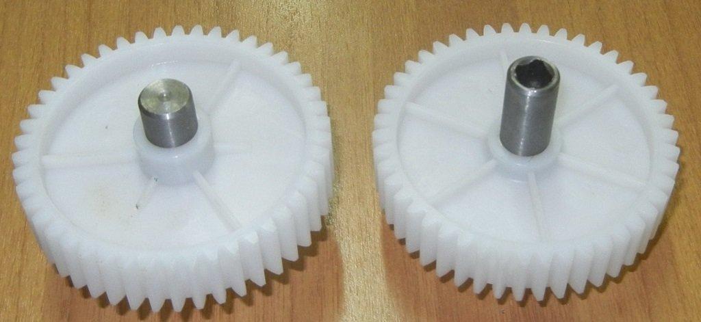 Запчасти для электромясорубок: Шестерня D=82/13.5; H=59/19; Z=46прям./металлический шток внутр.4-гр.(муфта=9мм), SRT082, Чудесница, Дива, Ротор в АНС ПРОЕКТ, ООО, Сервисный центр
