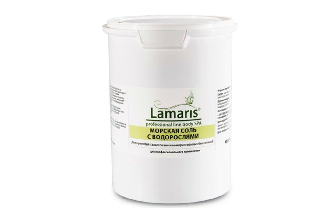 Соли для ванн Lamaris: Морская соль с водорослями Lamaris в Профессиональная косметика LAMARIS в Тюмени