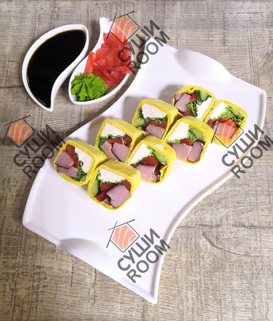 Роллы: Тортилья с беконом в Суши Room
