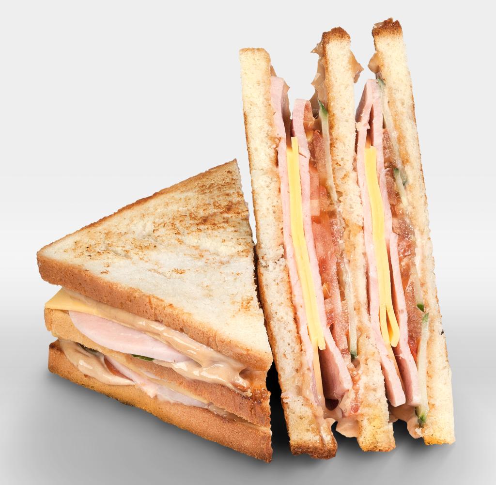 """Сэндвичи: Сэндвич """"с Ветчиной и Сыром"""" в The Угли"""
