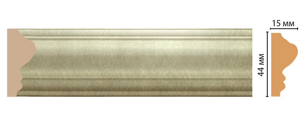 Молдинги: Цветной молдинг DECOMASTER D030-373 (43*16*2400) в Мир Потолков