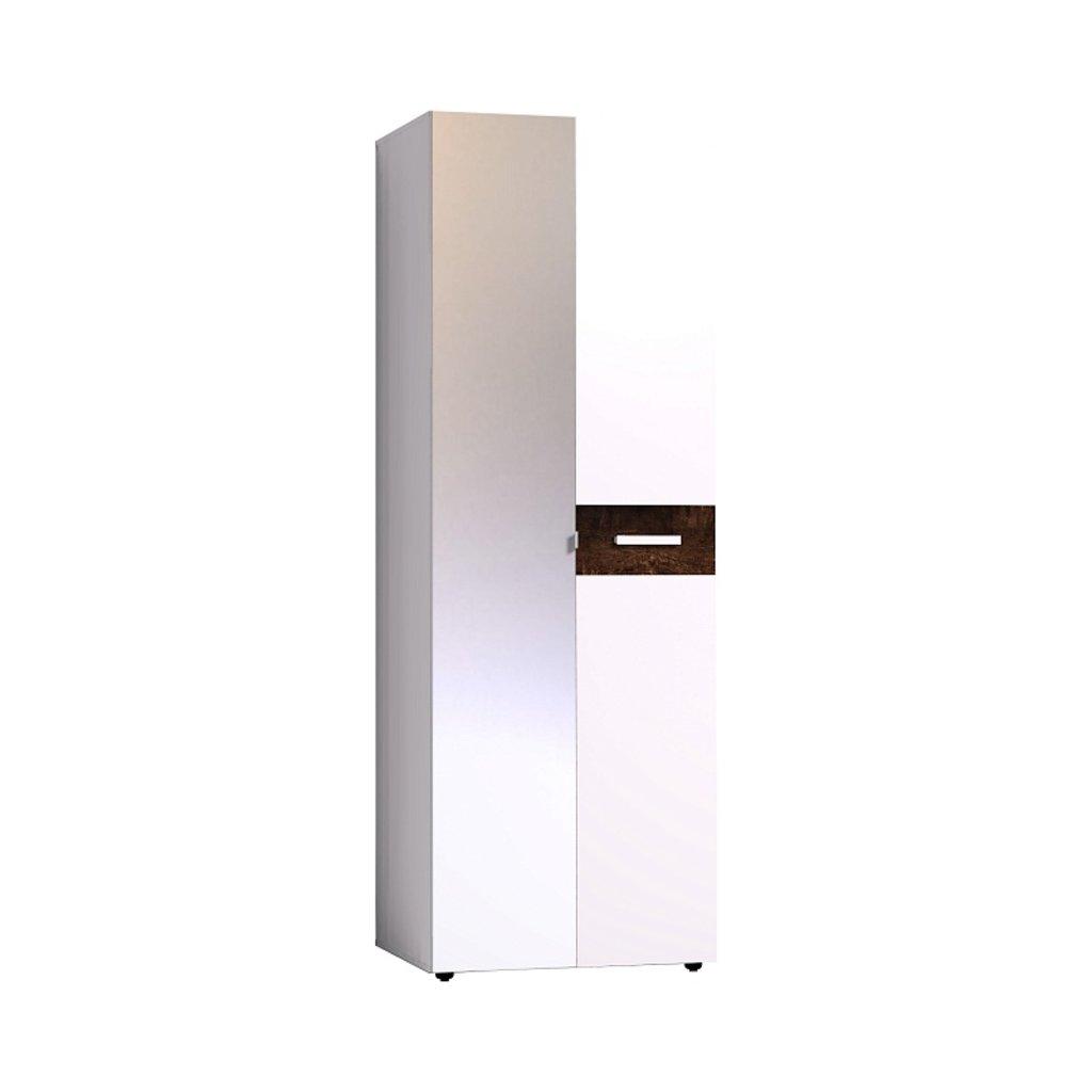 Мебель для спален, общее: Шкаф для одежды Норвуд 54 (Зеркало+Стандарт) в Стильная мебель