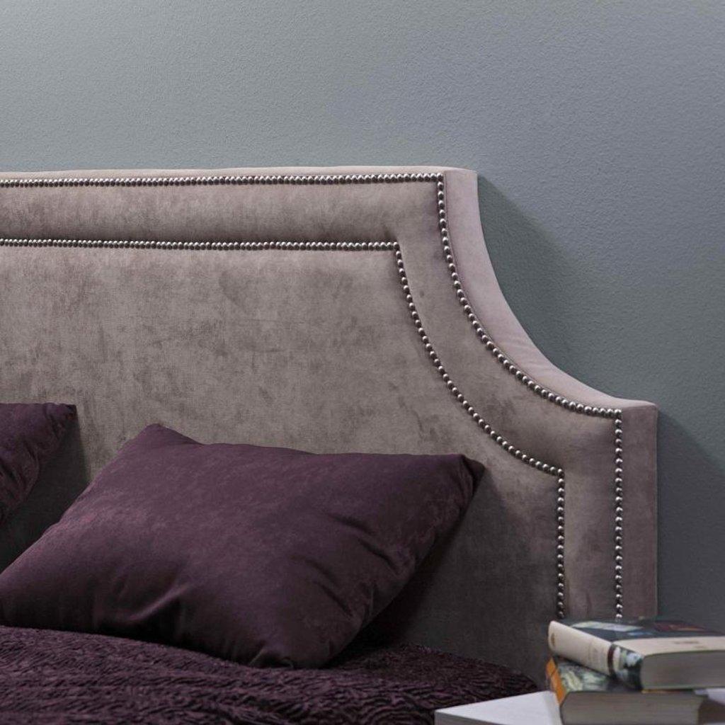 Кровати: Кровать Люкс Карина 308 (1400, орт. осн. металл) в Стильная мебель