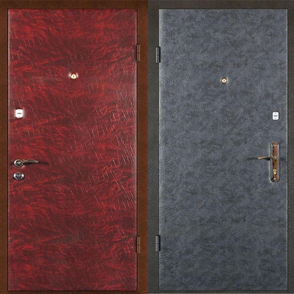 Стальные двери: Металлическая дверь Эконом 1 в Мир дверей