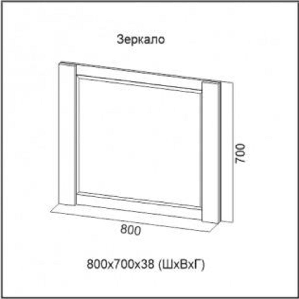 Мебель для спальни Гамма-20: Зеркало Гамма-20 в Диван Плюс