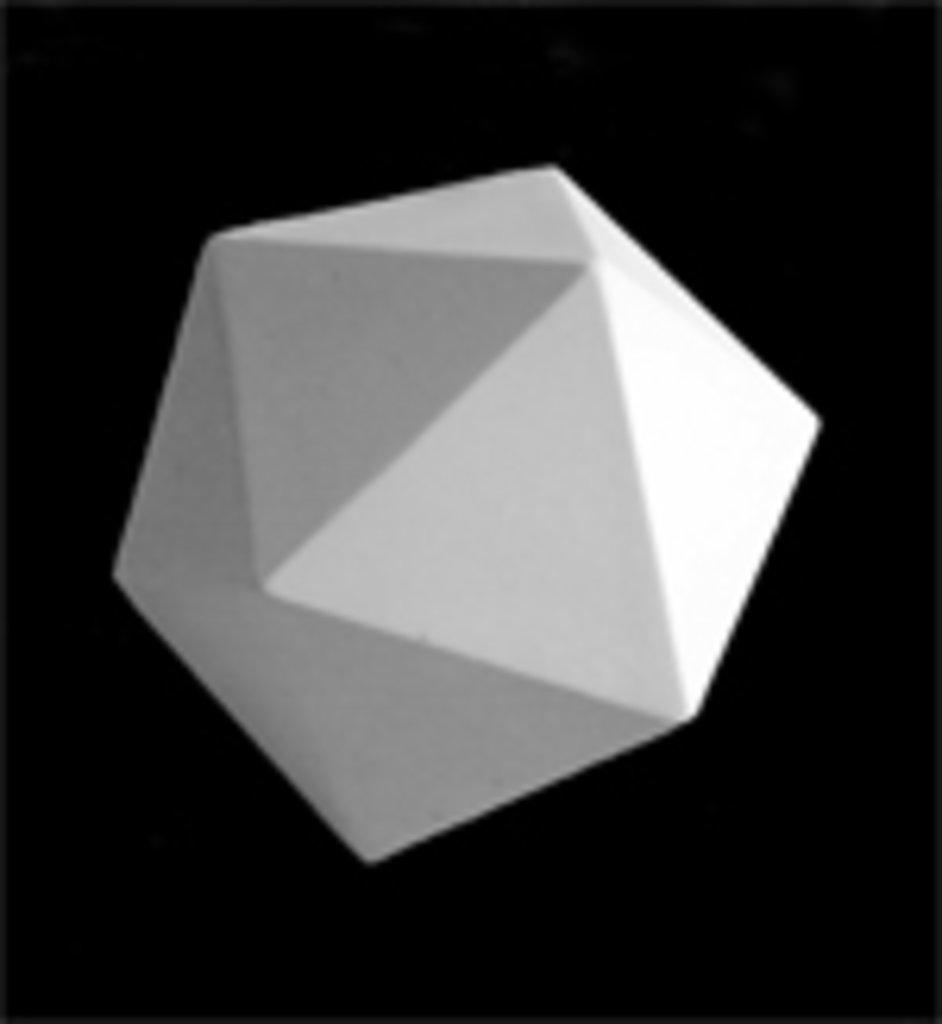Гипсы: Икосаэдр, гипс в Шедевр, художественный салон