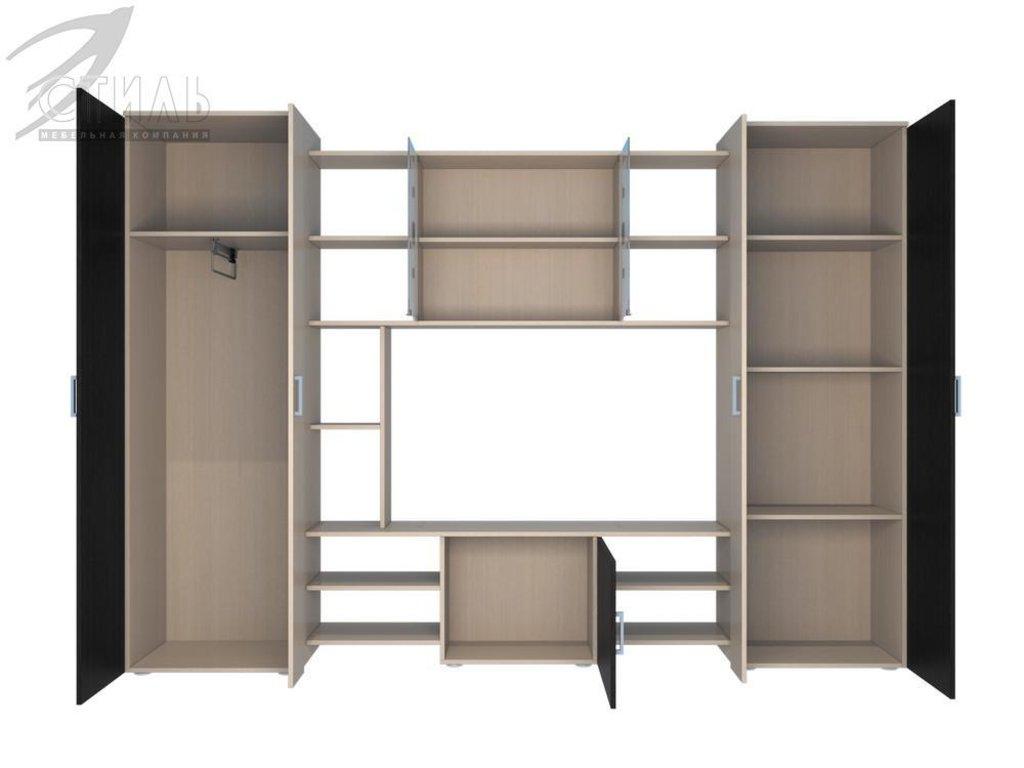 Гостиные: Мебель для гостиной Атлантида - 1 (венге / молочный дуб) в Диван Плюс