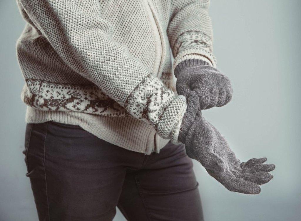 Варежки и перчатки: Перчатки из шерсти яка в Сельский магазин