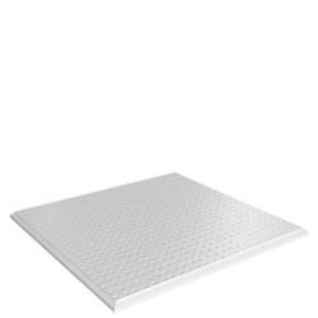 Кассетные металлические потолки: Кассетный потолок (Cesal)  Tegular B29/45°/Т-24 белый с рисунком в Мир Потолков