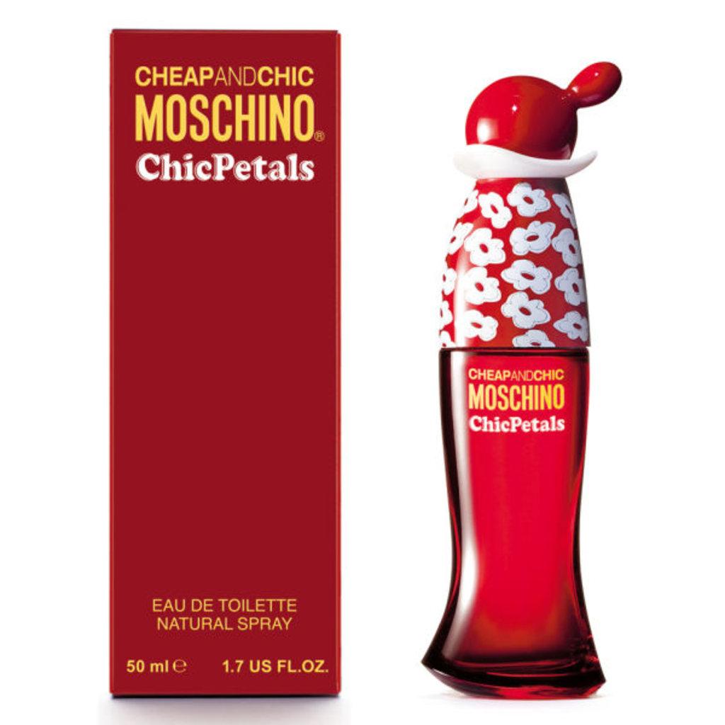 Женская туалетная вода Moschino: Туалетная вода Moschino Chic Petals edt ж 30 | 50 ml в Элит-парфюм