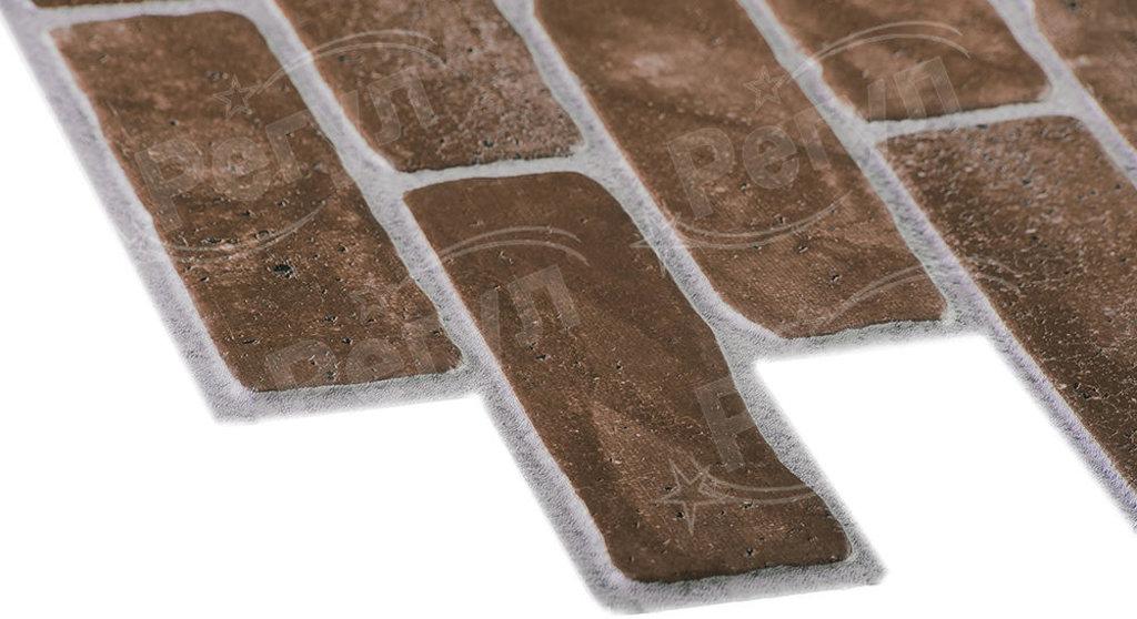 Панели ПВХ: Кирпич Старый коричневый в Мир Потолков