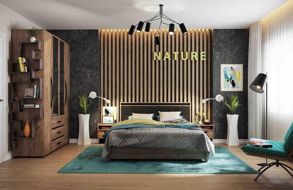 Модульная мебель в спальню Nature: Модульная мебель в спальню Nature в Стильная мебель