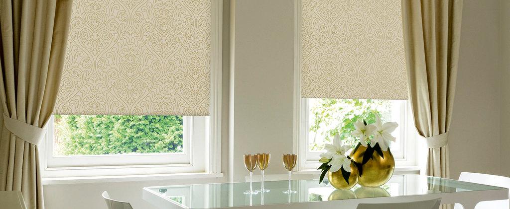 Рулонные шторы: Рулонные шторы UNI1 (BESTA) для пластиковых окон с глубиной штапика не менее 14мм в Салон штор, Виссон