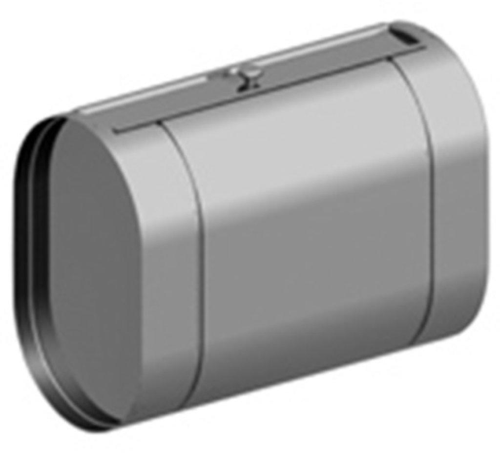 Печи и дымоходы: Бак Феррум Комфорт выносной 95 л нержавеющий (AISI 201/1,0 мм) горизонтальный эллипс в Погонаж