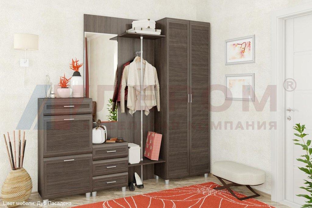 Мебель для прихожей Мелиса - композиция 1 (модульная система): Мебель для прихожей Мелиса - композиция 1 (модульная система) в Диван Плюс