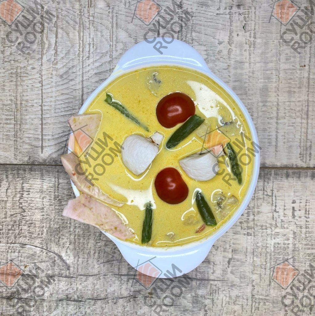 Супы: Острый Суп Карри в Суши Room