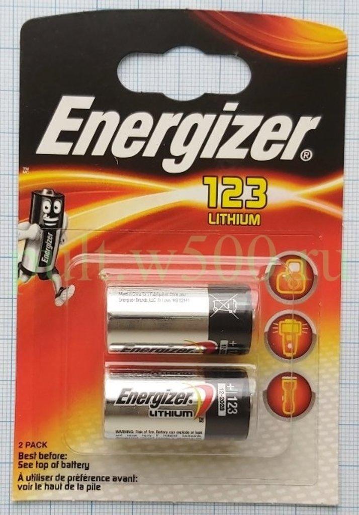 Батарейки.: Батарея CR123 Energizer ( 12 в кор. ) (2BL) в A-Центр Пульты ДУ