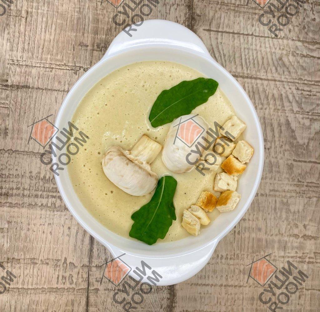 Супы: Грибной Крем-суп в Суши Room