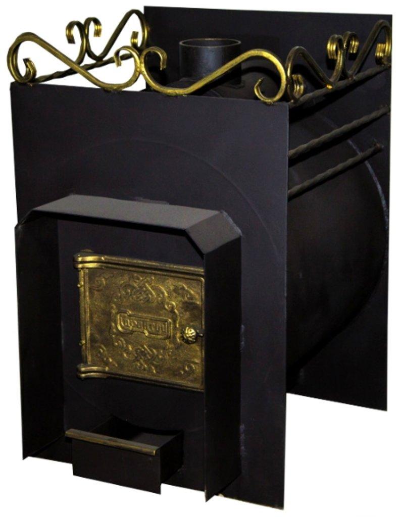 Печи и дымоходы: Печь для бани Сабантуй 20, конструкционная сталь 9 мм. в Погонаж