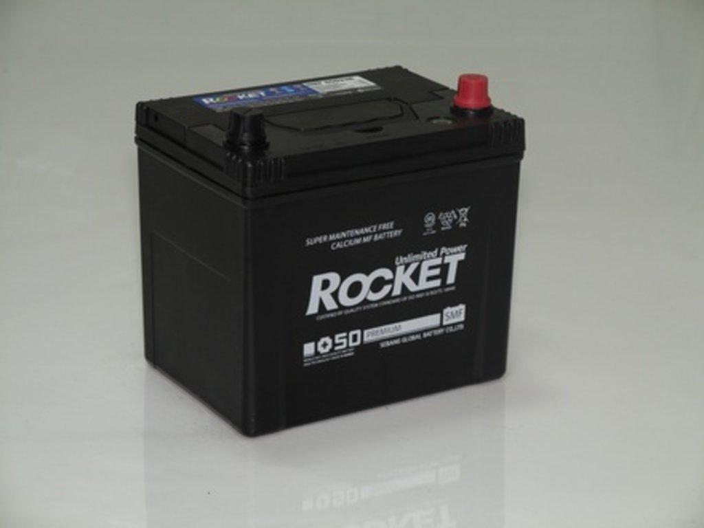Аккумуляторы автомобильные: ROCKET SMF SUPER +50 70 (85 D 23) R в Мир аккумуляторов
